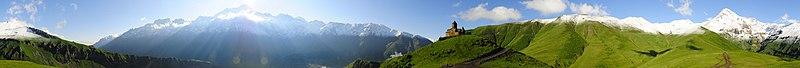 File:Kazbeg Panorama.jpg