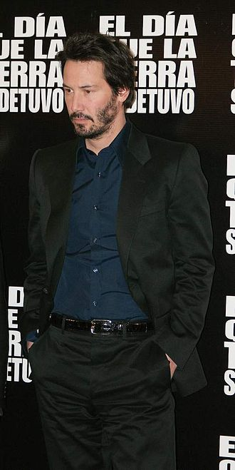 Keanu Reeves - Reeves promoting The Day the Earth Stood Still in Mexico in 2008.