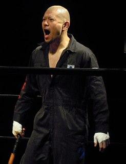 Kenichiro Arai Japanese wrestler for Dragon Gate