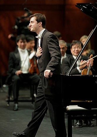 Kenneth Broberg - Kenny Broberg in the semi-final round at the Fifteenth Van Cliburn International Piano Competition