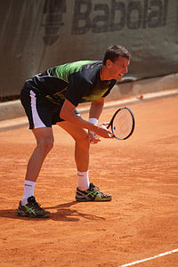 Kenny de Schepper all'Open de Nice Côte d'Azur 2012
