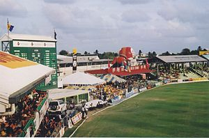 Michael Holding - The Kensington Oval, Barbados, where Holding bowled a fearsome over to a 40-year-old Geoffrey Boycott.