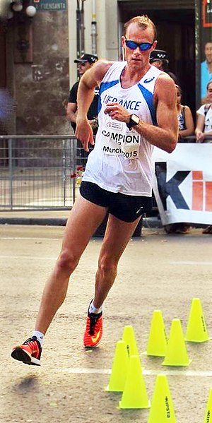Kévin Campion - Campion at the 2015 European Cup Race Walking