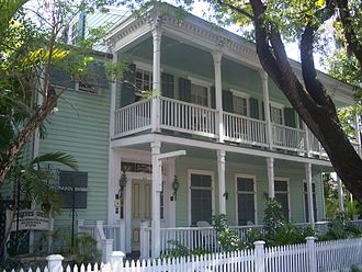 Key West Heritage House Museum and Robert Frost Cottage - Image: Key West FL HD Heritage House Museum 01