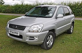 kia sportage (better looking than the new version,in my view) - flickr