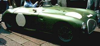 Coventry Climax - Kieft 1100 at 1954 24 Hours of Le Mans