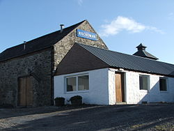 Kilchoman Distillery in summer