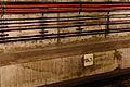 Kilometertafel im U-Bahn-Tunnel 20140808 18.jpg