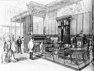 Kimbel and Cabus - Image: Kimbel & Cabus display at 1876 Centennial Exposition Harper's Weekly Dec 2, 1876