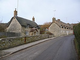 Cottages in Kimmeridge
