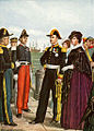 King Francis II of Naples and Queen Amalia leave Gaeta of the Two Sicilies.jpg