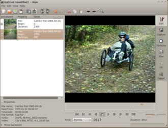 Kino (software) - Image: Kino 1.3.4