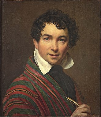 Orest Kiprensky - Self Portrait, 1828