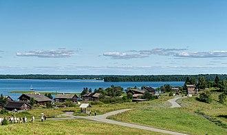 Kizhi Island - Kizhi island settlement