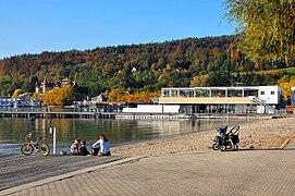 Klagenfurt Wörthersee Strandbad Seeufer 11102008 73.jpg