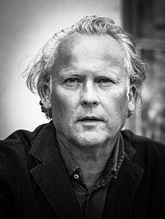 Klas Östergren i Tankernes have på Centralbadet under Stockholms Kulturfestival 2015.