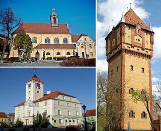 Kościan Place in Greater Poland Voivodeship, Poland