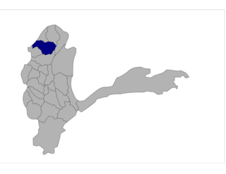 Kuf Ab District Place in Badakhshan, Afghanistan