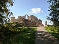 Koknese castle ruins (AD 1205) - panoramio.jpg