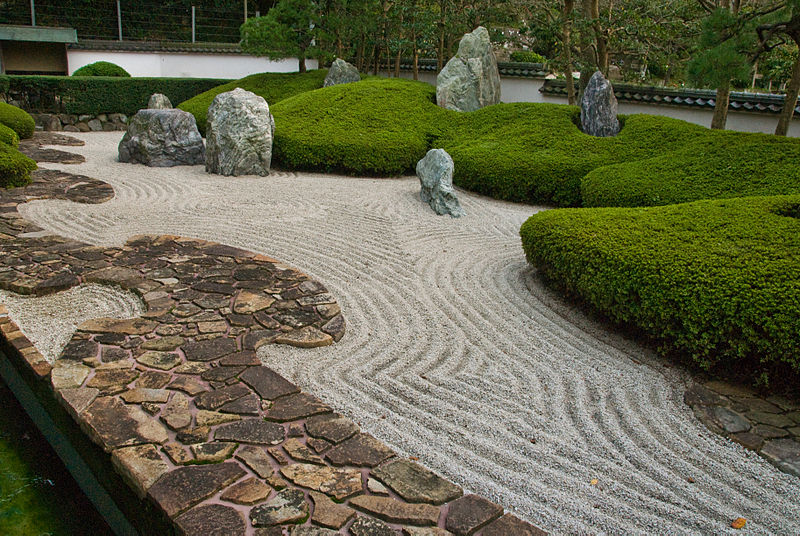 Rock gardens on pinterest japanese rock garden zen and for Japanese stone garden