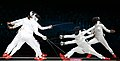 Korea London WomenTeam Fencing 19 (7730592718).jpg