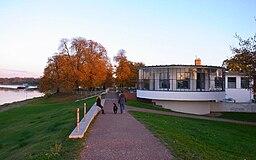 an Der Elbe in Dessau-Roßlau