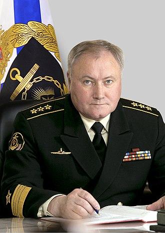 Russian Navy - ADM Vladimir Korolyov