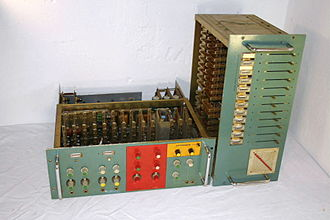 Kraftwerk - Early 1970s vocoder, custom built for Kraftwerk