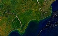 Krishna godavari delta region