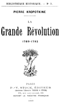 The Great French Revolution: 1789–1793 cover