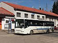 Kuřim, autobusový terminál, Irisbus Crossway 12M (4B5 3307).jpg