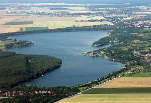 Kulkwitzer See Leipzig (towards the north) .jpg