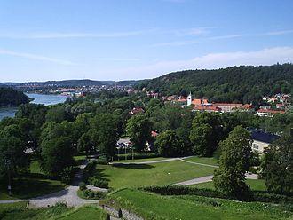 Kungälv - Kungälv from Bohus fästning in July 2006