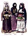 Kurdish woman from Yozgat, women from Preveza, Chios.jpg