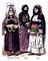 Kurdish woman from Yozgat, women from Preveza, Chios.jpg