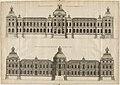 L'Architecture française (Marot) BnF RES-V-371 164v-f349 Louvre, Desseins de la pensée de Lemercier et de Marot pour la principale entrée.jpg