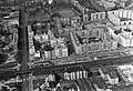 Légifotó Lágymányosról. Az előtérben a Hamzsabégi út látszik, baloldalon a Fehérvári út vezet fel a Móricz Zsigmond körtérre. Fortepan 18259.jpg