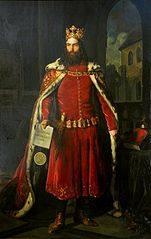 Portrait of Casimir the Great.