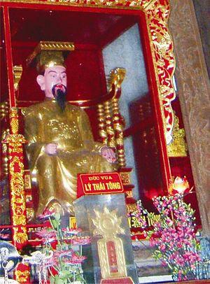 Lý Thái Tông - A statue of emperor Lý Thái Tông