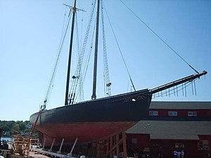 L. A. Dunton (schooner) - Image: L.A. Dunton 2008
