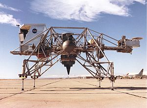 Lunar Landing Research Vehicle - The Lunar Landing Research Vehicle (LLRV)