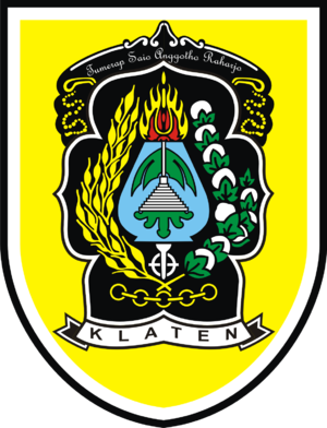 Klaten Regency - Image: LOGO KABUPATEN KLATEN
