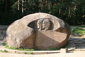 Anykščiai Church - Puntukas stone