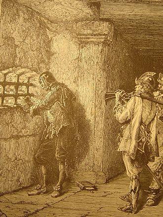 Man in the Iron Mask - Illustration, c. 1872