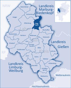 Siegbach - Image: Lahn Dill Kreis Siegbach