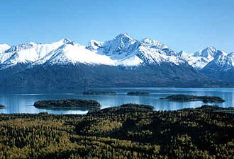 Lake Clark National Park and Preserve - Lake Clark and the Chigmit Mountains