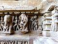 Lakshmana Temple Western Group of Temples Khajuraho India - panoramio (18).jpg