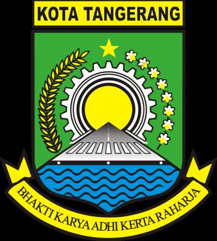 File Lambang Kota Tangerang Png Wikimedia Commons