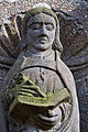 Lampaul-Guimiliau - Enclos paroissial - Extérieur - Statue - PA00090020 - 002.jpg