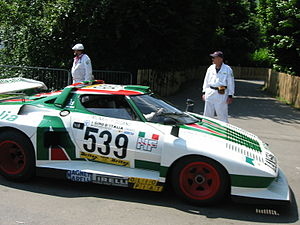 Lancia Stratos - Lancia Stratos Turbo Group 5